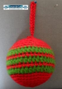 Bola verde y roja